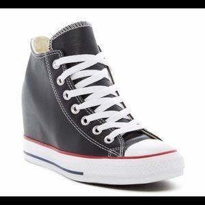 Converse hidden platform sneakers
